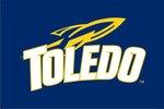Toledo Rockets 3' X 5' Navy Flag