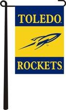 Toledo Rockets 3 Panel Garden Banner