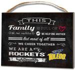 Toledo Rockets Family Cheer Small Plaque