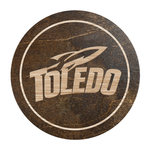 Toledo Rockets Sport Logo Wooden Coaster 2 Pack