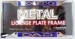 University of Toledo Stockdale Metal License Plate Frame -DAD