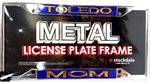 University of Toledo Stockdale Metal License Plate Frame -MOM