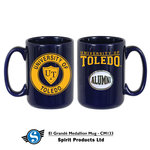 University of Toledo Alumni Medallion Mug