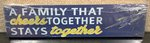 Toledo Rockets Family That Cheers Plaque