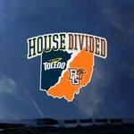 Toledo Rockets BGSU House Divided Decal