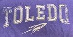 Toledo Rockets Retro Heathered Tee