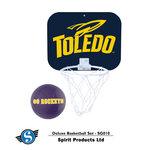 Toledo Rockets Mini Basketball Hoop w/Ball