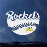 Toledo Rockets Baseball Decal