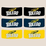 University of Toledo Spirit Temporary Face Stickers -Eye Black