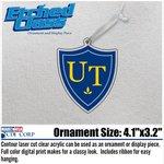 University of Toledo  Shield Ornament