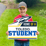 """CDI YARD SIGN HOME OF A TOLEDO STUDENT 22"""" X 19"""""""