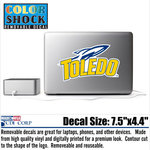 University of Toledo Color Shock Sticker