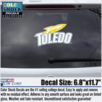 University of Toledo Extra Large Sport Logo Decal