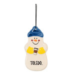 Toledo Coffee Time Snowman Ornament