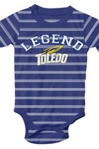 University of Toledo Infant Legend Stripe Onesie