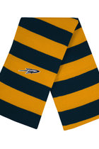 Toledo Rockets Rugby Striped Knit Scarf
