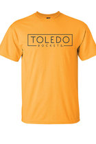 MV CLASSIC TEE BOX TOLEDO ROCKETS (NAVY) ATHLETIC GOLD -S