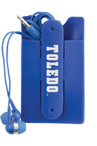 University of Toledo Koala Pouch with Earbuds