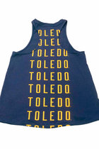 University of Toledo UA Ladies Charged Cotton Taps Tank