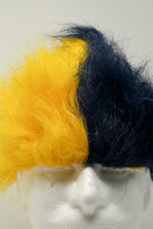 Two Tone Rally Wig