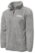BOXERCRAFT FUZZY FLEECE QUARTER ZIP PULLOVER OXFORD -S