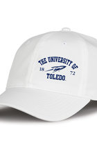 H64 THE GAME UNIVERSITY OF TOLEDO LADIES HAT WHITE