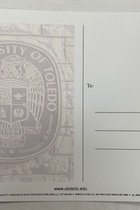 University of Toledo Water Fountain Postcard