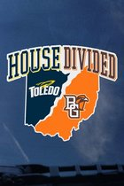 Toledo Rockets BGSU House Divided Decal