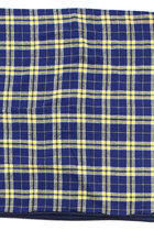 University of Toledo Plaid Cotton Flannel Blanket