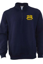 RUSSELL FLEECE 1/4 ZIP CADET NAVY -S