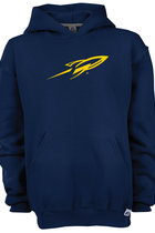 RUSSELL YOUTH FLEECE HOOD ROCKET ONLY NAVY -S