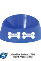 Toledo Rockets Chow Time Pet Bowl