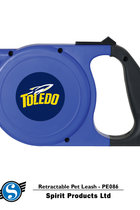 Toledo Rockets Sport Logo Retractable Pet Leash