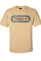 MV CLASSIC TEE WATERCOLOR TOLEDO (NAVY) MAIZE -S