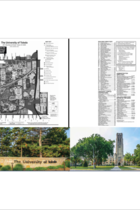 University of Toledo Scenic 2-Pocket Campus Map Folder