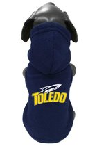 University of Toledo Pet Hooded Fleece Jacket