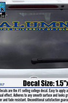University of Toledo Alumni Decal