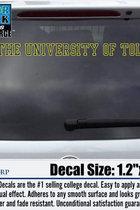 University of Toledo Decal