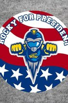 University of Toledo Rocky For President Button