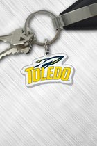 Toledo Rockets Sport Logo Acrylic Key Tag