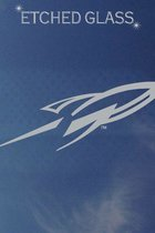 University of Toledo Rocket Etched Glass Decal