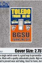 University of Toledo Rockets Light Switch Cover