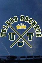 Toledo Rockets Window Decal