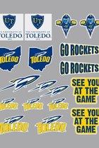 University of Toledo Rockets Stickers