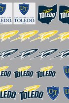 Toledo Rockets Sticker Pack