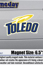 University of Toledo Color Shock Sport Logo Magnet