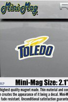 University of Toledo Rockets Sport Logo Mini Magnet