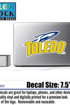 University of Toledo Color Shock Sticker