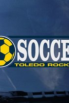Toledo Rockets Soccer Decal