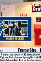 University of Toledo Rocky Picture Frame